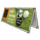 Outside Portable Banner Frame