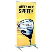 Retractable Outdoor Roller Banner Stand
