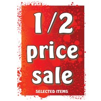 1/2 Price Sale - Poster 158