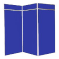 3 Panel Jumbo Folding Display - Aluminium frame