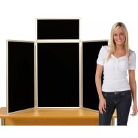 3 Panel Counter Top Display - Aluminium frame