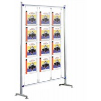 Beat 900 Kit 1  - Floor Standing 12 x A4 Cable Poster Display