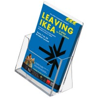Desktop Counter Acrylic Leaflet Dispenser - 1/3 A4 / A5 / A4
