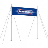 Overhead Banner Display Frames