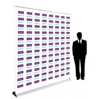 Step and Repeat Retractable Banner 2m Wide