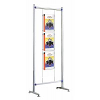 Beat 600 Kit 1 - Free Standing 3 x A3 Cable Display