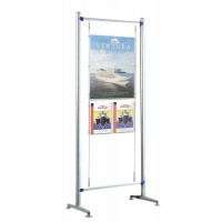 Beat 900mm Kit 5 - A1 poster pocket 2 x A4 leaflet pockets