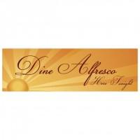 Dine Alfresco - Banner 107