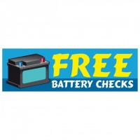 Free Battery Checks - Banner 119
