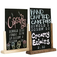 Chalkboard Table Top A5 Menu Holder