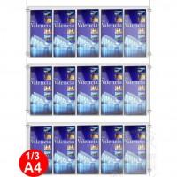 15x 1/3 A4 Leaflet Dispenser Kit