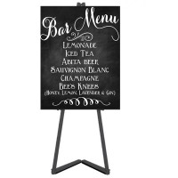 Metal Easel and Blackboard Kit