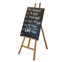 Wooden Easel with A1 Chalkboard