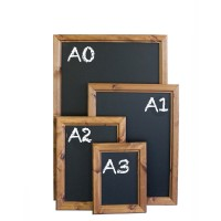 Wall Mounted Chalkboards - Chunky Frame