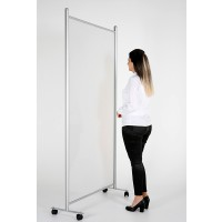 Wheeled Floor Standing Covid Screen