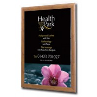 Wood Effect Snap Shut Poster Frame