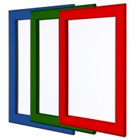Coloured Snap Frames 25mm Profile