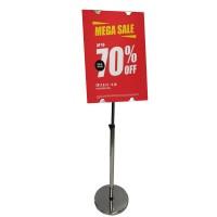 Stainless Steel Sign Holder