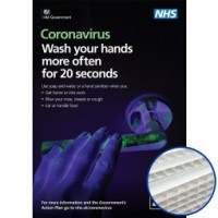 Printed Correx Signs - Pack of 10 - Coronavirus Design 2
