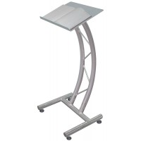 Curved Metal Truss Lectern
