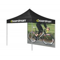 Custom Printed Tent with Valance + Backwall