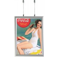 Hanging Snap Shut Poster Holder - 25mm