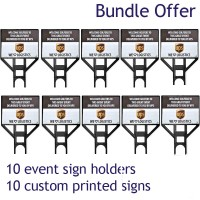 Stepframe Sign 10 Pack Bundle