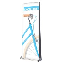Double-Sided Wide Roller Banner
