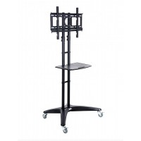 Mobile TV Flatscreen Stand up to 55""