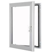 External Poster Case - Silver Frame