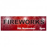 Fireworks Night - Banner 210