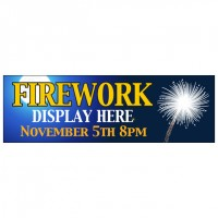Fireworks Night - Banner 128