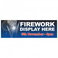 Fireworks Night - Banner 211