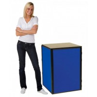 4 Panel Table Display - Plastic Frame