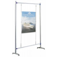 Beat 900 Kit 3 - Floor Standing 1 x A1 Poster Cable Display Stand