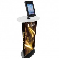Floor Standing Tablet Display