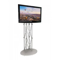 Flat Pack Trade Show Monitor Stand up to 50""