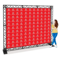 Step and Repeat Folding Gantry Logo Backdrop