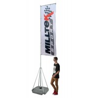 5 Metre Telescopic Event Flag Pole
