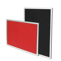 Flat Frame Groove Boards Wall Mounted