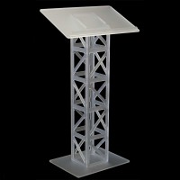 Frosted Acrylic Truss Lectern