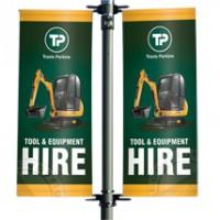 Premium Lamp Post Banners