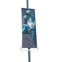Midi Post Mounted Banner