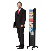 16 Pocket Floor Standing Literature Holder