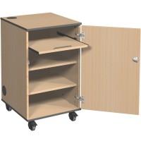 Wheeled AV Projector Cabinet