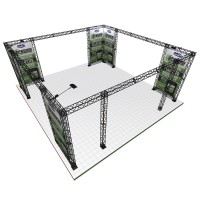 Truss Exhibition Gantry Frame - 7x7m