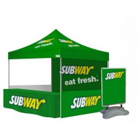Market Trader Tent, Table and Pavement Sign Bundle