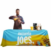 6ft - Fully Printed Exhibition Tablecloth