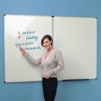 Folding whiteboard