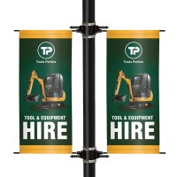 Premium Lamp Post Banners